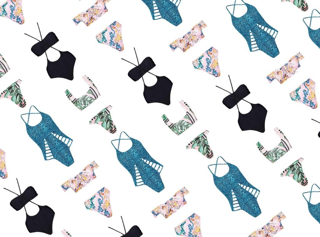 Shopping: Swim Under $50 Collage