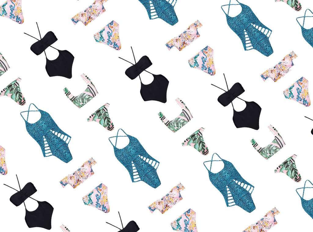Shopping: Swim Under $50 Collage