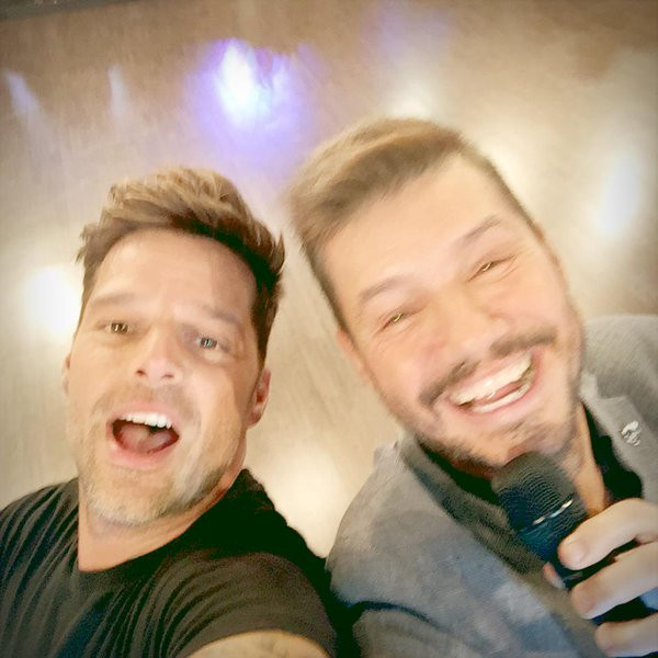 Ricky Martin, Marcelo Tinelli