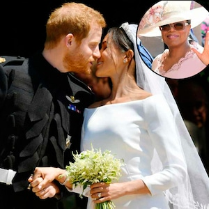 Prince Harry, Meghan Markle, Royal Wedding, Kiss, Oprah Winfrey