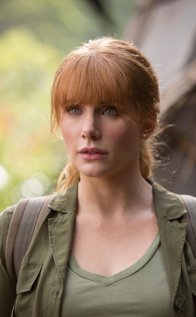 Bryce Dallas Howard,  Jurassic World: Fallen Kingdom  - The Female Movie Star of 2018