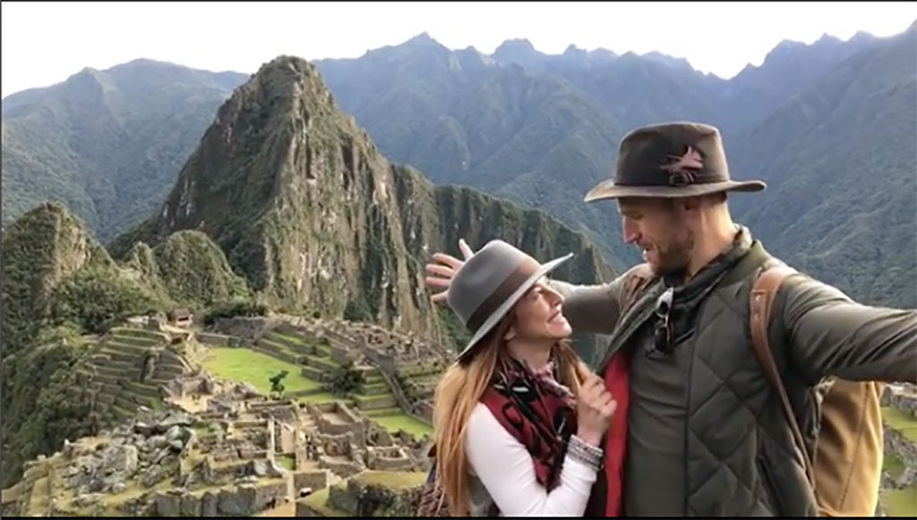 Julianne Hough, Brooks Laich, Machu Picchu
