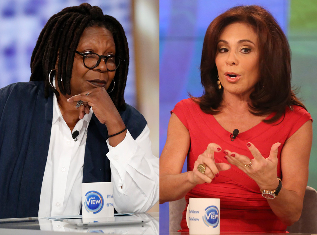 Whoopi Goldberg, Jeanine Piro, The View