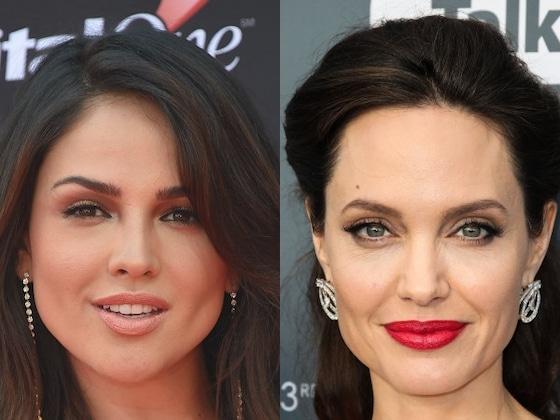 ¡Eiza Gonzalez se transformó en Angelina Jolie!