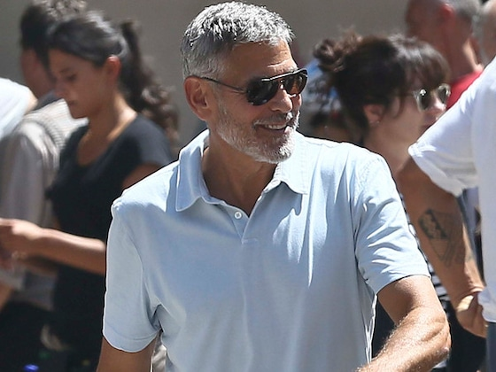 George Clooney Is Back at Work and Walking 1 Week After Scooter Accident