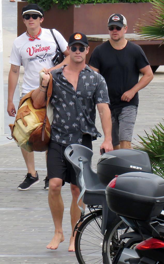 Chris Hemsworth, Matt Damon