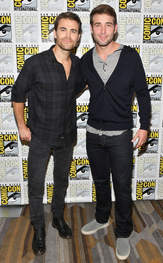 Paul Wesley and James Wolk from Comic-Con 2018: Star ...