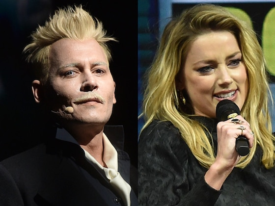 Johnny Depp and Ex Amber Heard Almost Ran into Each Other at Comic-Con