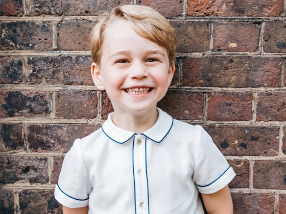 Prince George Grins in Adorable 5th Birthday Portrait