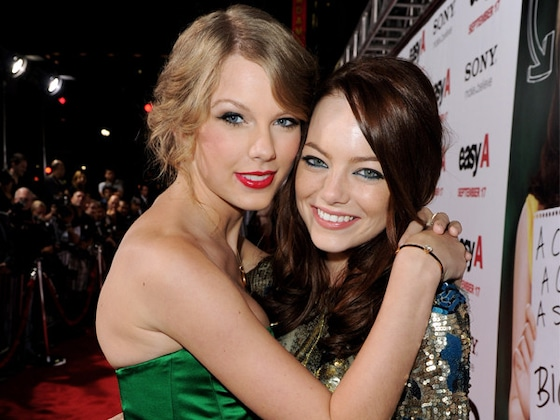 Emma Stone Is a Bonafide Swiftie at Taylor Swift's Concert