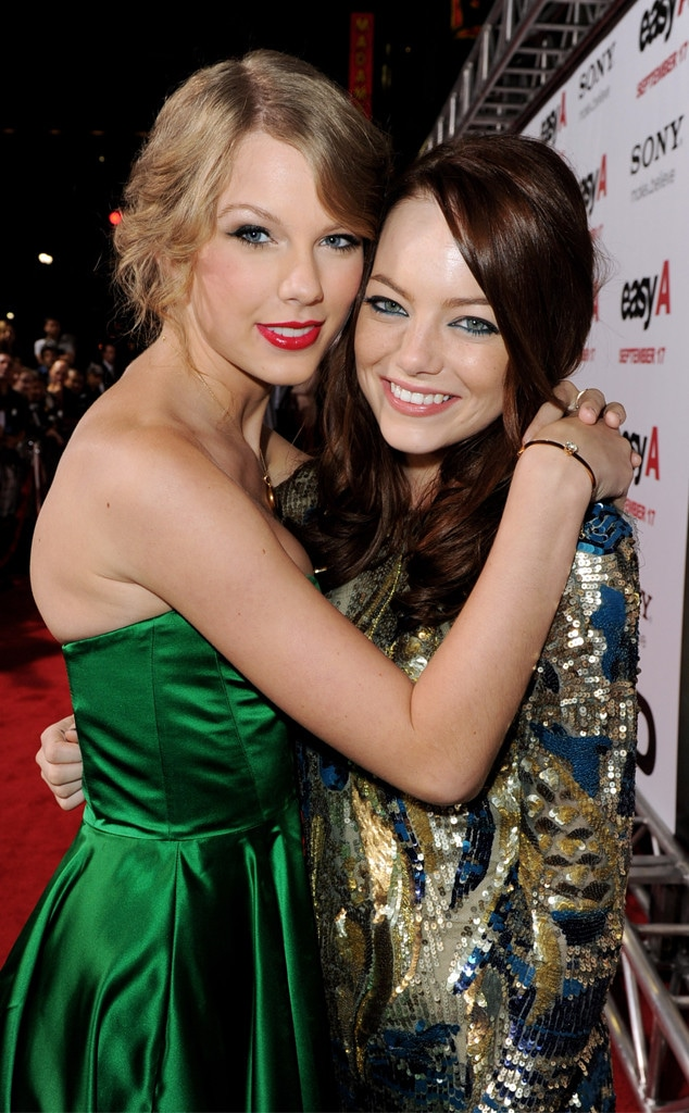 Taylor Swift, Emma Stone