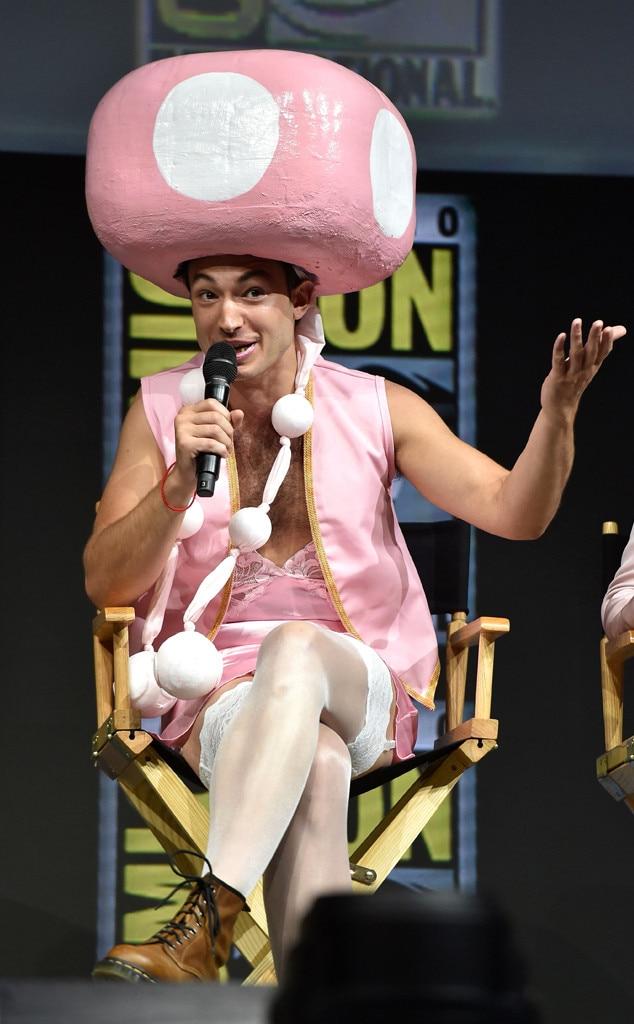 Ezra Miller, Comic-Con 2018