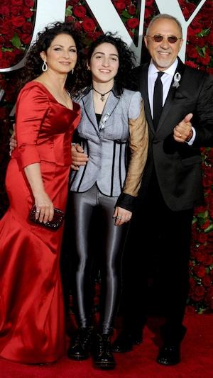 Gloria Estefan, Emily Stefan, Emilio Stefan