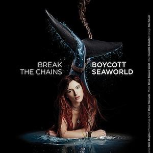 Bella Thorne, Anti-Seaworld, PETA Ad