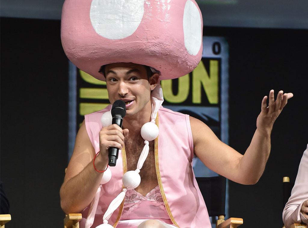 Ezra Miller, 2018 Comic Con