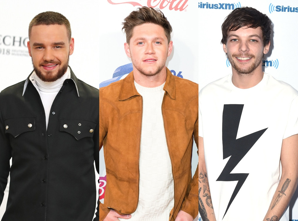 Liam Payne, Niall Horan, Louis Tomlinson