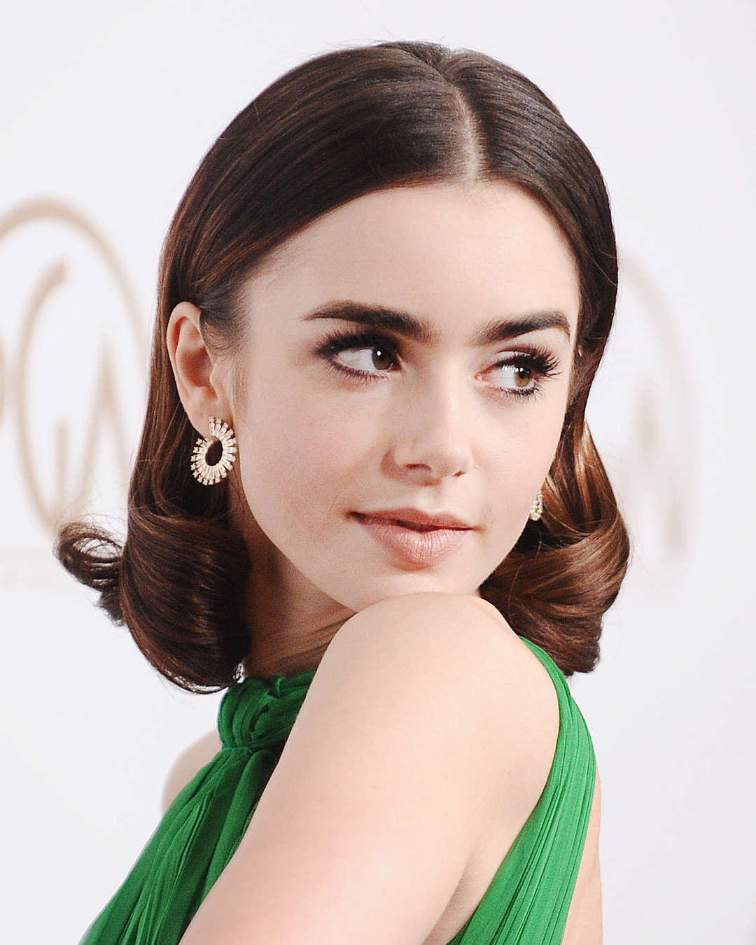 ESC: Lily Collins, Brows