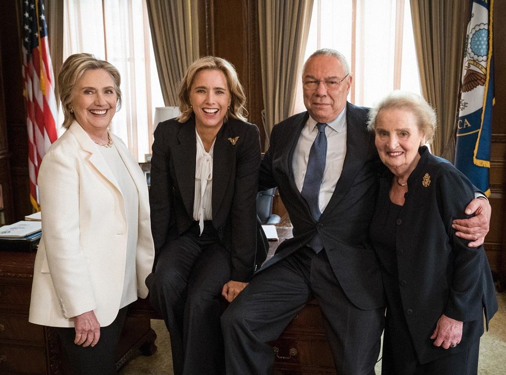 Madam Secretary, Tea Leoni, Hillary Clinton, Madeline Albright, Colin Powell