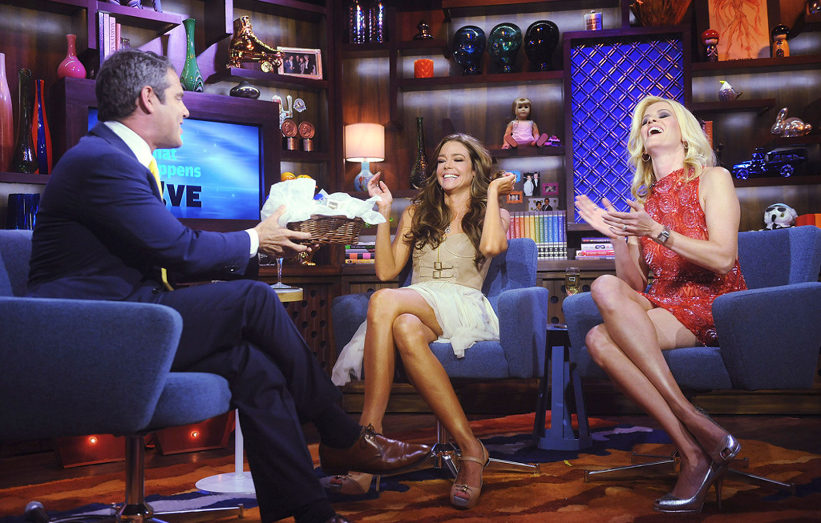 Andy Cohen, Denise Richards, Alex McCord
