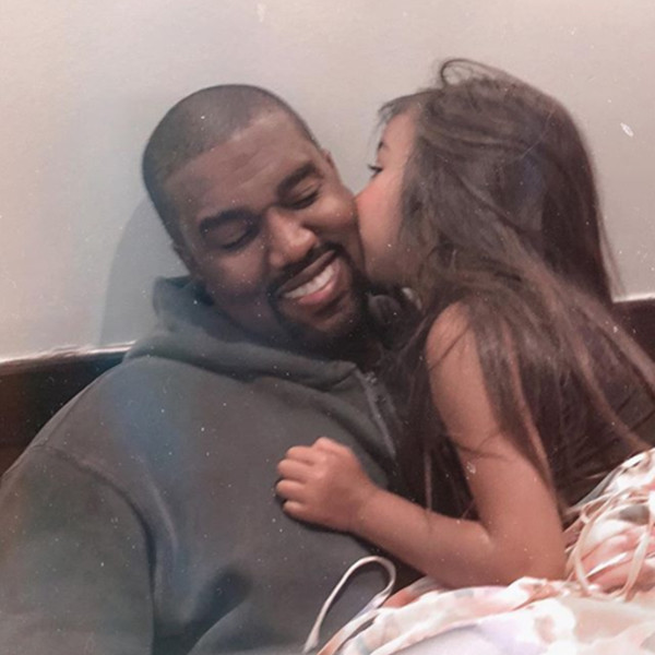 North West Sings Her Heart Out With Dad Kanye West at Detroit Sunday Service