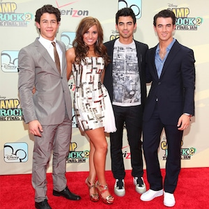 The Jonas Brothers, Demi Lovato