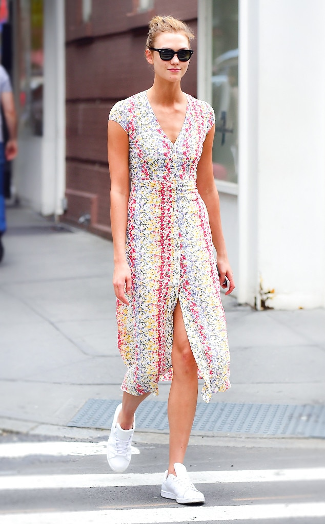 37ef0e33c64 Karlie Kloss from How Selena Gomez and Pippa Middleton Wear Dresses ...