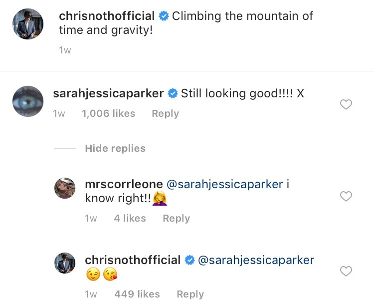 Chris Noth, Sarah Jessica Parker