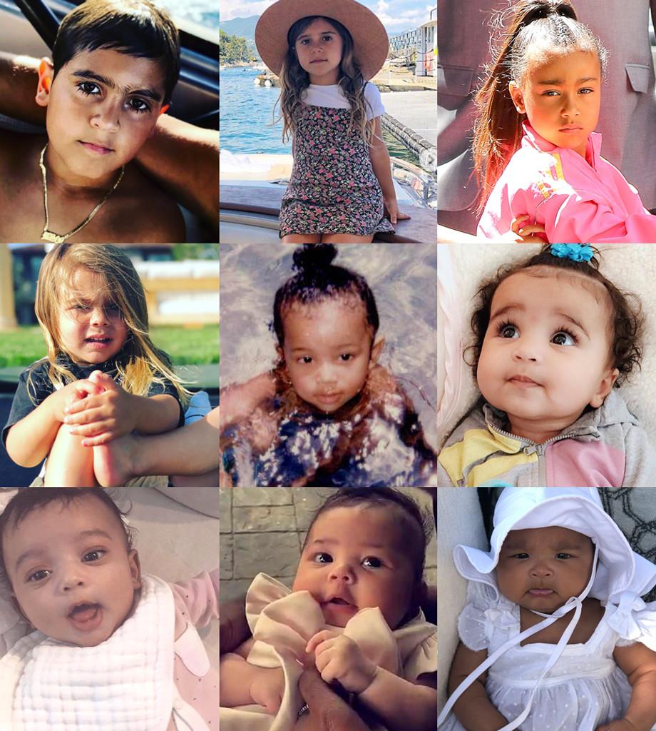 Kardashian, Disick, West, Jenner kids