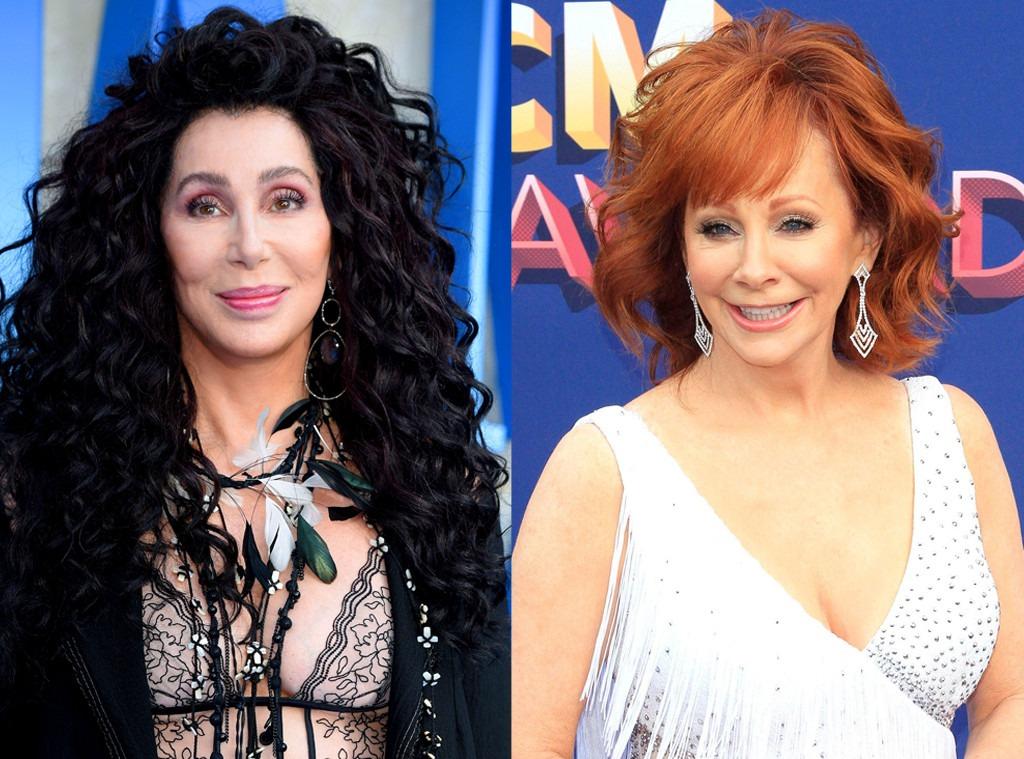 Cher, Reba McEntire