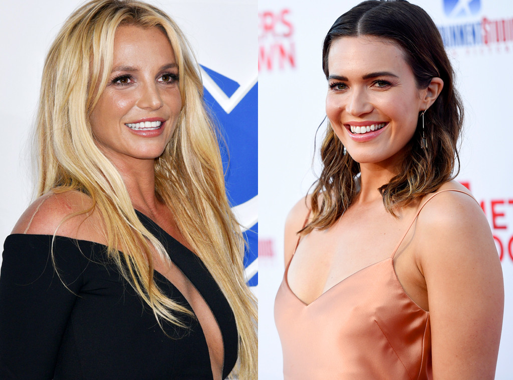Britney Spears Mandy Moore