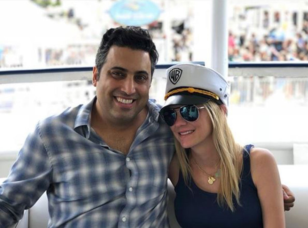 Anna Faris -  The funny actress shared a picture of her and  Anna Faris is Unqualified  co-host Sim Sarna on-board a boat at the convention.