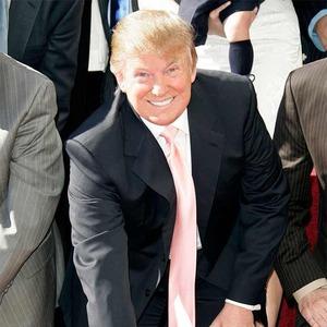 Donald Trump, Hollywood Walk of Fame