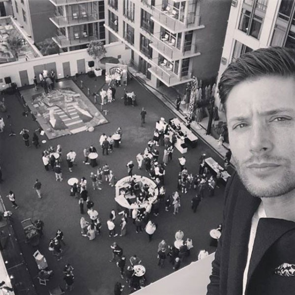 Jensen Ackles -  The actor was at SDCC to promote the fourteenth season of  Supernatural , which will soon air it's 300th episode.