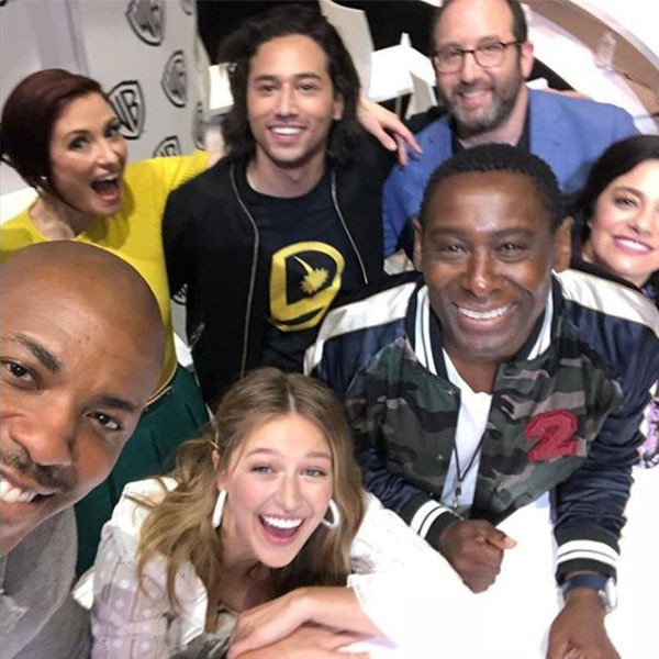 Supergirl  Cast - Melissa Benoist  appeared at a panel alongside her co-stars and discussed the upcoming season of the CW series.