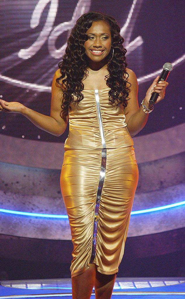 Paulini, Australian Idol, Gold Dress