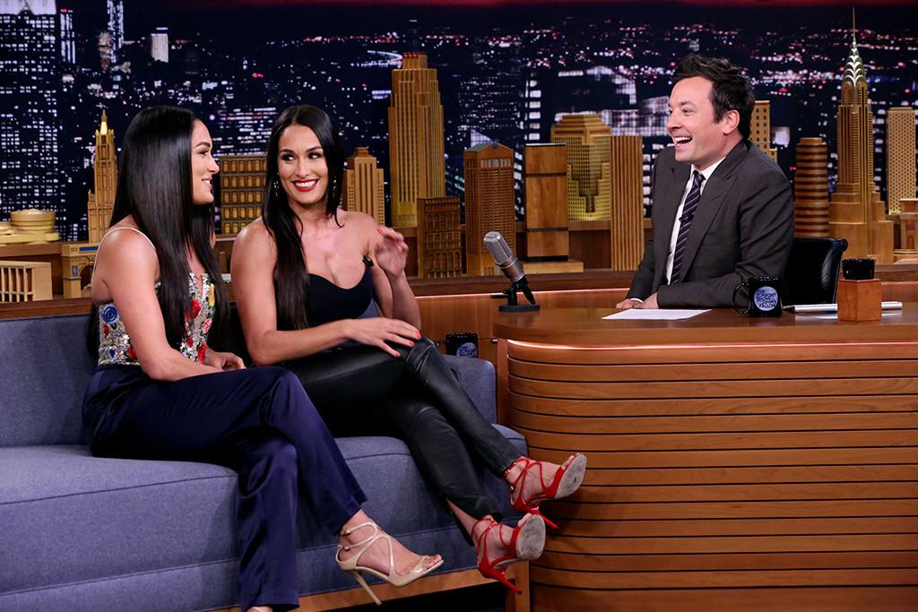 Nikki Bella S Joke About John Cena Makes The Tonight Show Audience