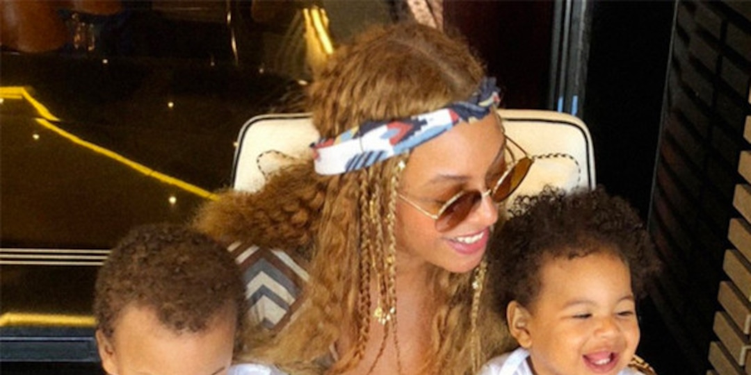 Every Time Beyoncé Gave Us a Rare Look Into Rumi and Sir's Lavish World - E! Online.jpg