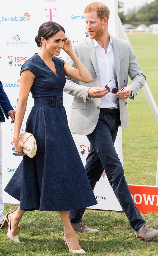 Meghan Markle, Prince Harry, Sentebale Polo 2018