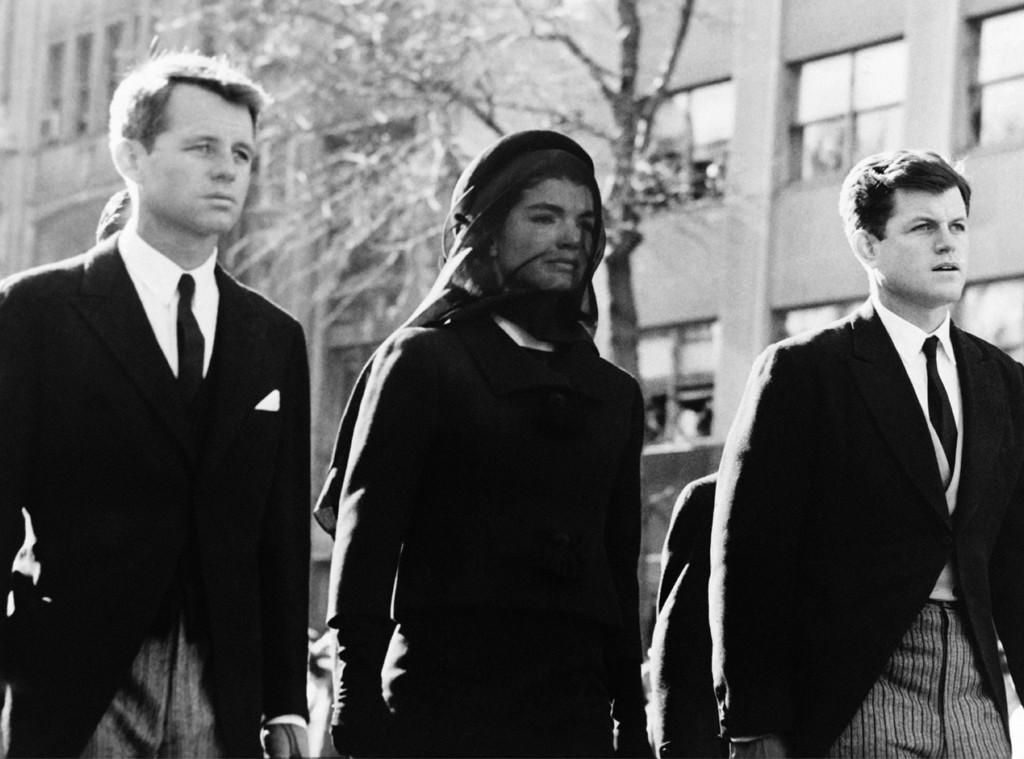 Robert Kennedy, Edward Kennedy, Jacqueline Kennedy
