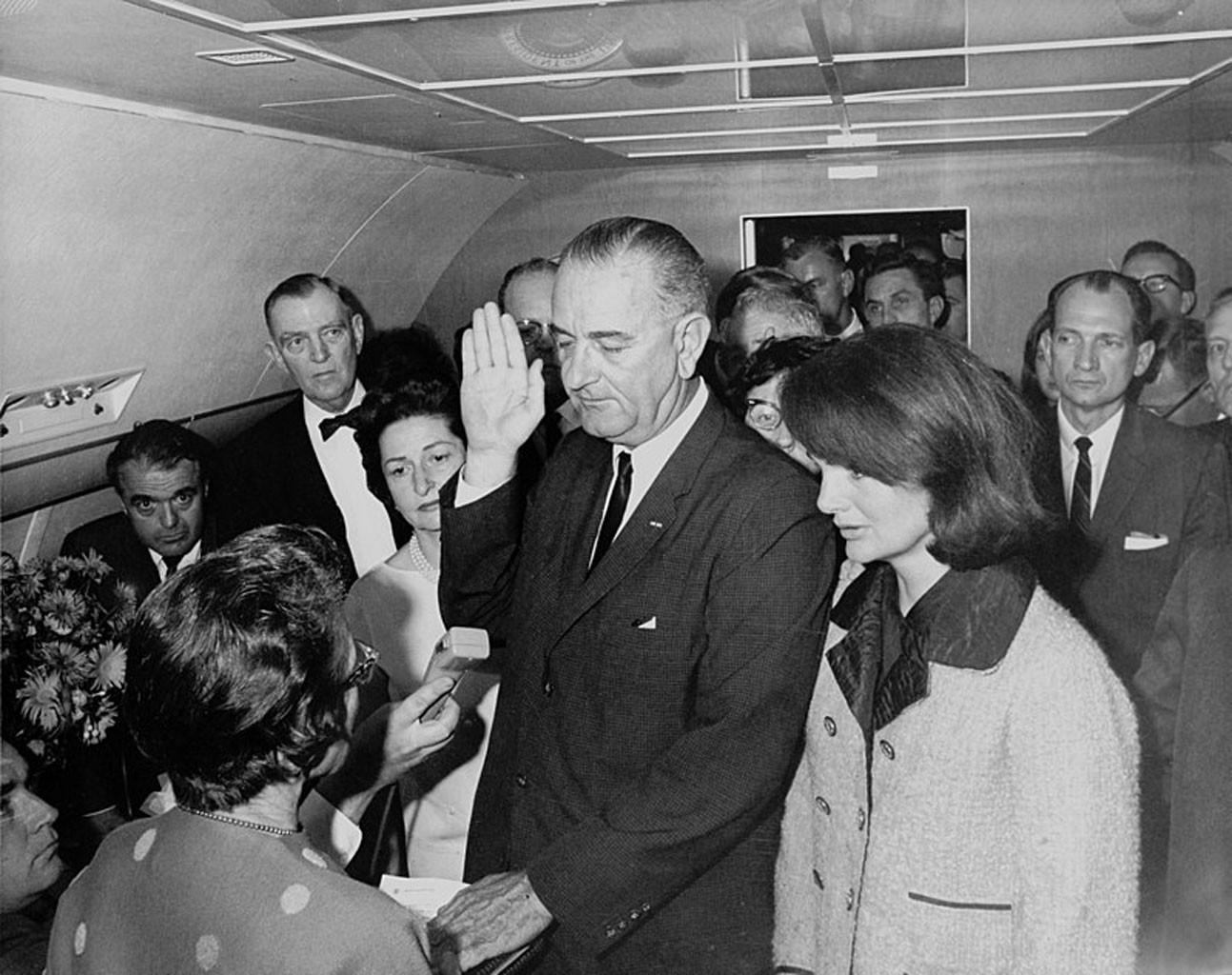 Lyndon B. Johnson, Jackie Onassis