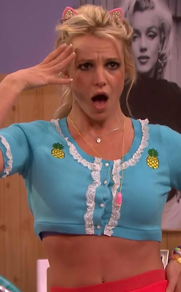 Britney Spears, The Tonight Show