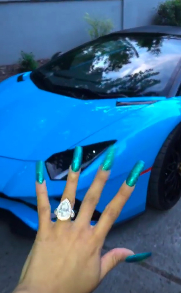 Image result for Cardi B and Offset Debut His and Hers Lamborghinis