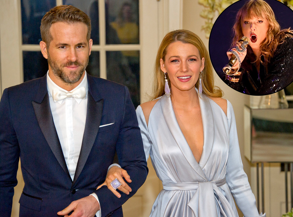 Ryan Reynolds, Blake Lively, Taylor Swift