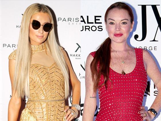 Así es cómo Lindsay Lohan responde a los últimos ataques de Paris Hilton