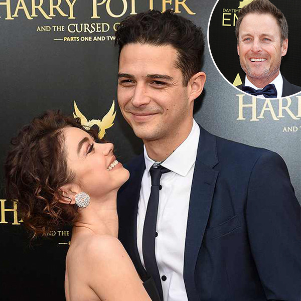 Sarah Hyland, Wells Adams, Chris Harrison