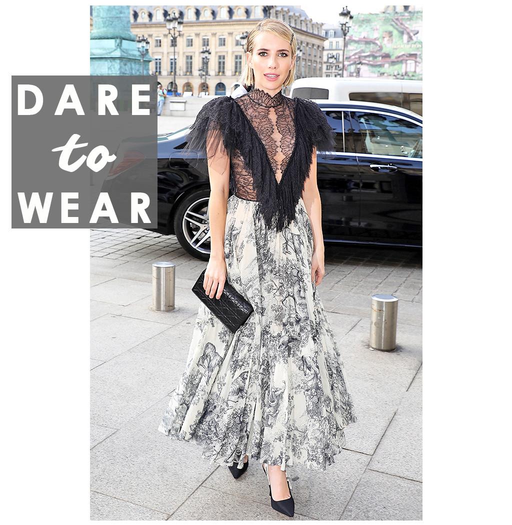 ESC: Dare to Wear, Emma Roberts
