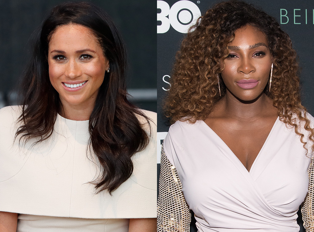 Meghan Markle, Serena Williams
