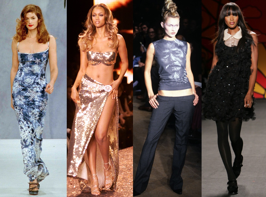 Cindy Crawford, Tyra Banks, Kate Moss, Naomi Campbell, Supermodel Poll