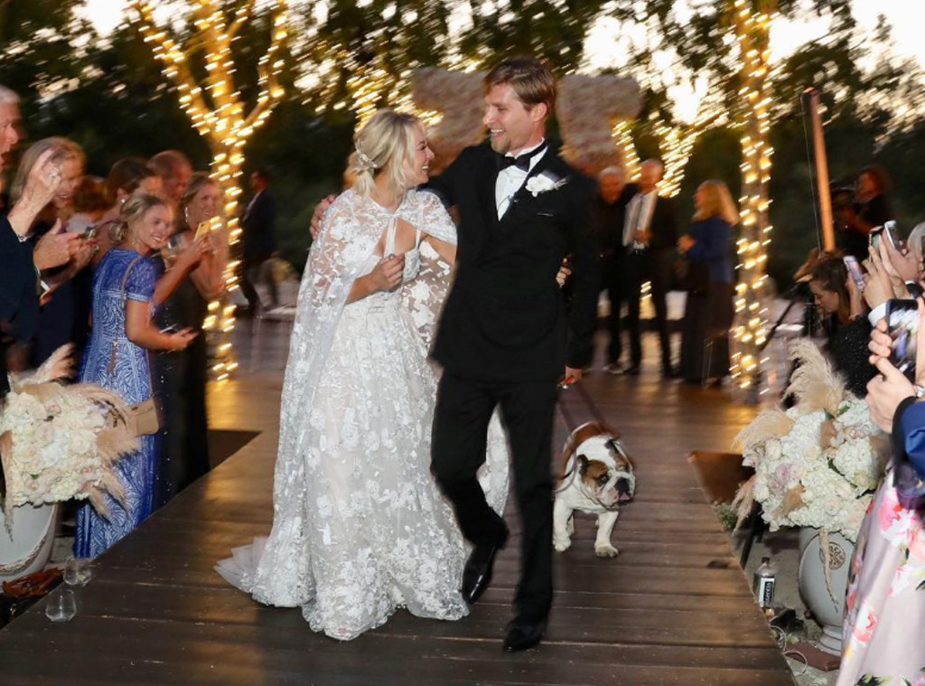 Kaley Cuoco, Karl Cook, Wedding