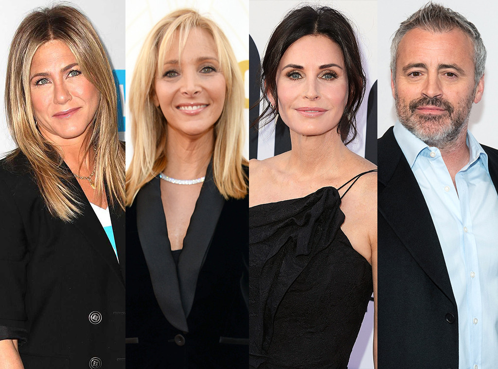 Jennifer Aniston, Lisa Kudrow, Courteney Cox, Matt LeBlanc